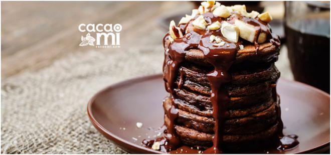 Cách làm Bánh Pancake Chocolate