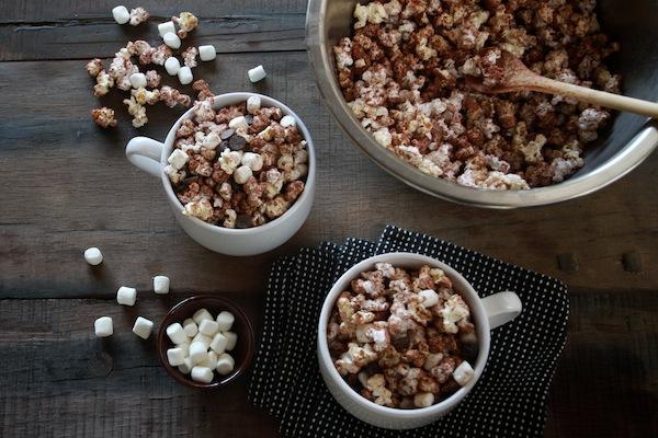 Cách làm bắp rang bơ vị Cacao