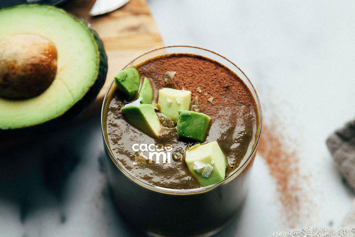 Cách làm sinh tố bơ cacao