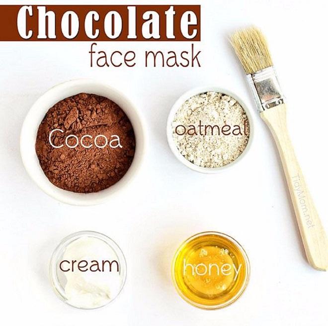 Công thức mặt nạ cacao mật ong trị khô da