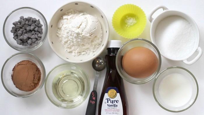 Nguyên liệu làm bánh Socola