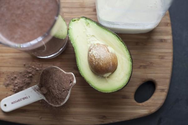 Nguyên liệu làm sinh tố bơ cacao