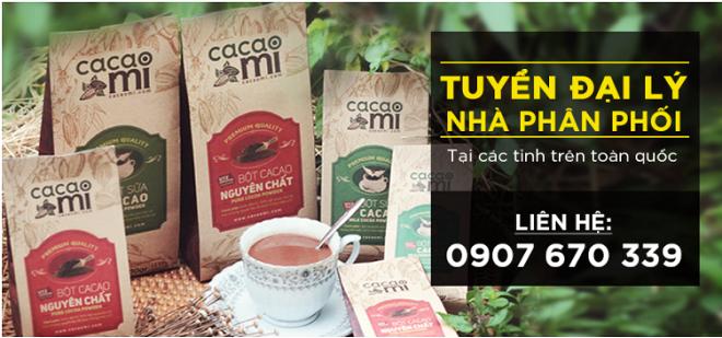 Cacao Mi tìm đối tác phân phối toàn quốc